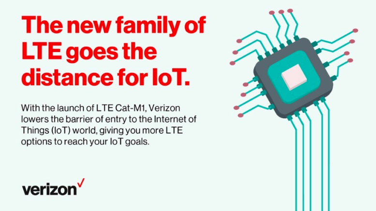 Verizon launches 'LTE Cat M1' IoT network - LTE to 5G | 4G