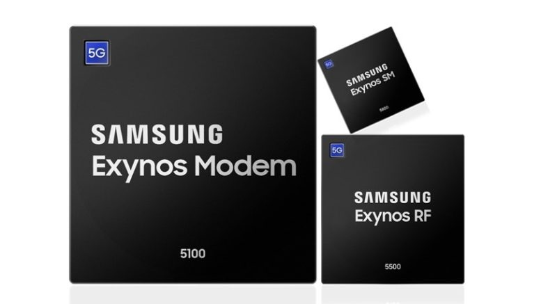 Samsung's Multi-Mode Exynos Chipsets Ready for Upcoming 5G Premium Mobile Devices